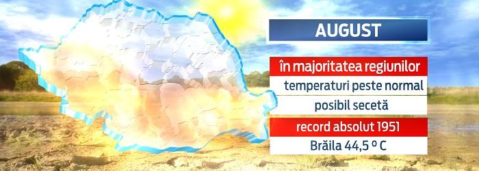 Efectele fenomenului El Nino. Romanii ar putea avea parte de cea mai calduroasa vara din ultimii 100 de ani