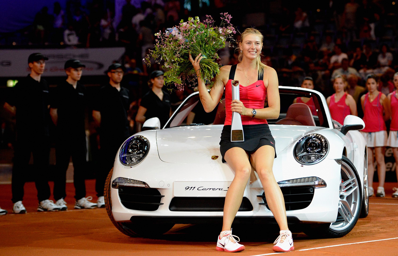 PORTRET Maria Sharapova, sex-simbolul tenisului, adversara Simonei Halep in finala de sambata a turneului de la Roland Garros