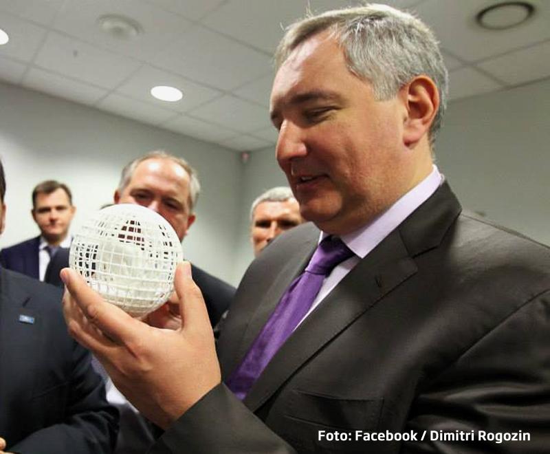 Vicepremierul Rogozin: