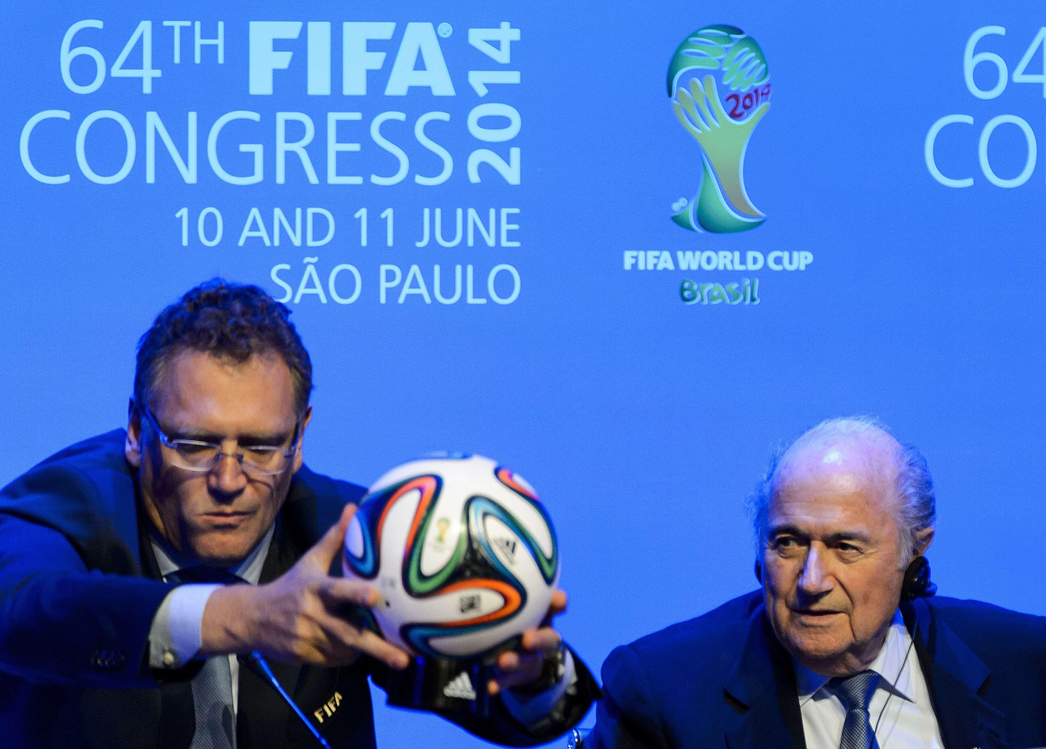 Campionatul Mondial de Fotbal 2014. Brazuca este balonul oficial al Cupei Mondiale: FOTO
