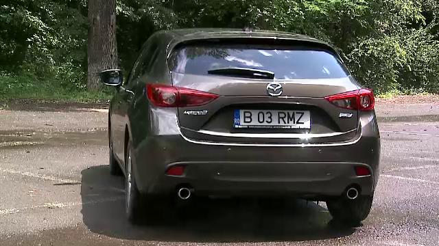 Test drive ProMotor cu noua Mazda3. Cat consuma noul model, unul mult mai comod si mai spectaculos. FOTO