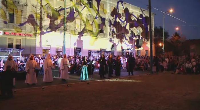 Filarmonica Banatul a concertat in aer liber, in fata a mii de persoane. Unde ar putea avea loc urmatorul concert inedit