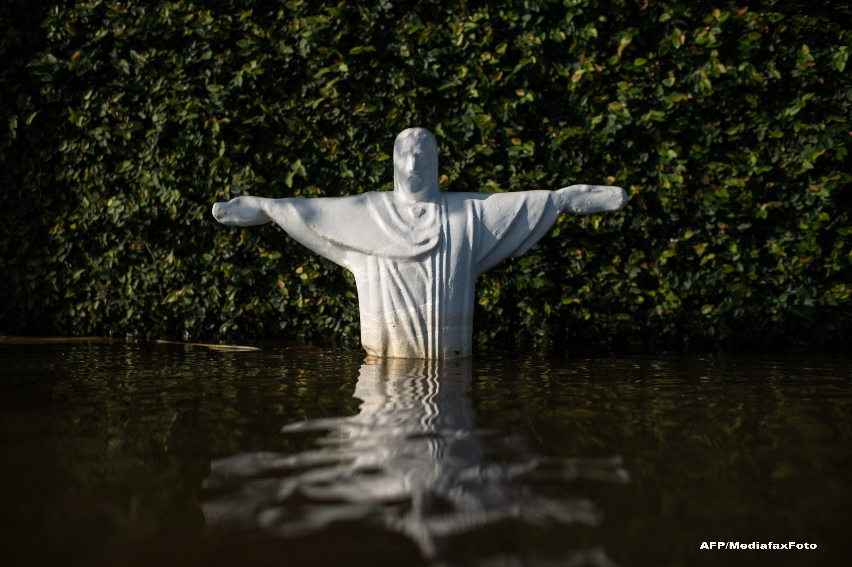 Campionatul Mondial de Fotbal 2014. Stare de urgenta in orasul unde va avea loc meciul SUA - Ghana, din cauza inundatiilor