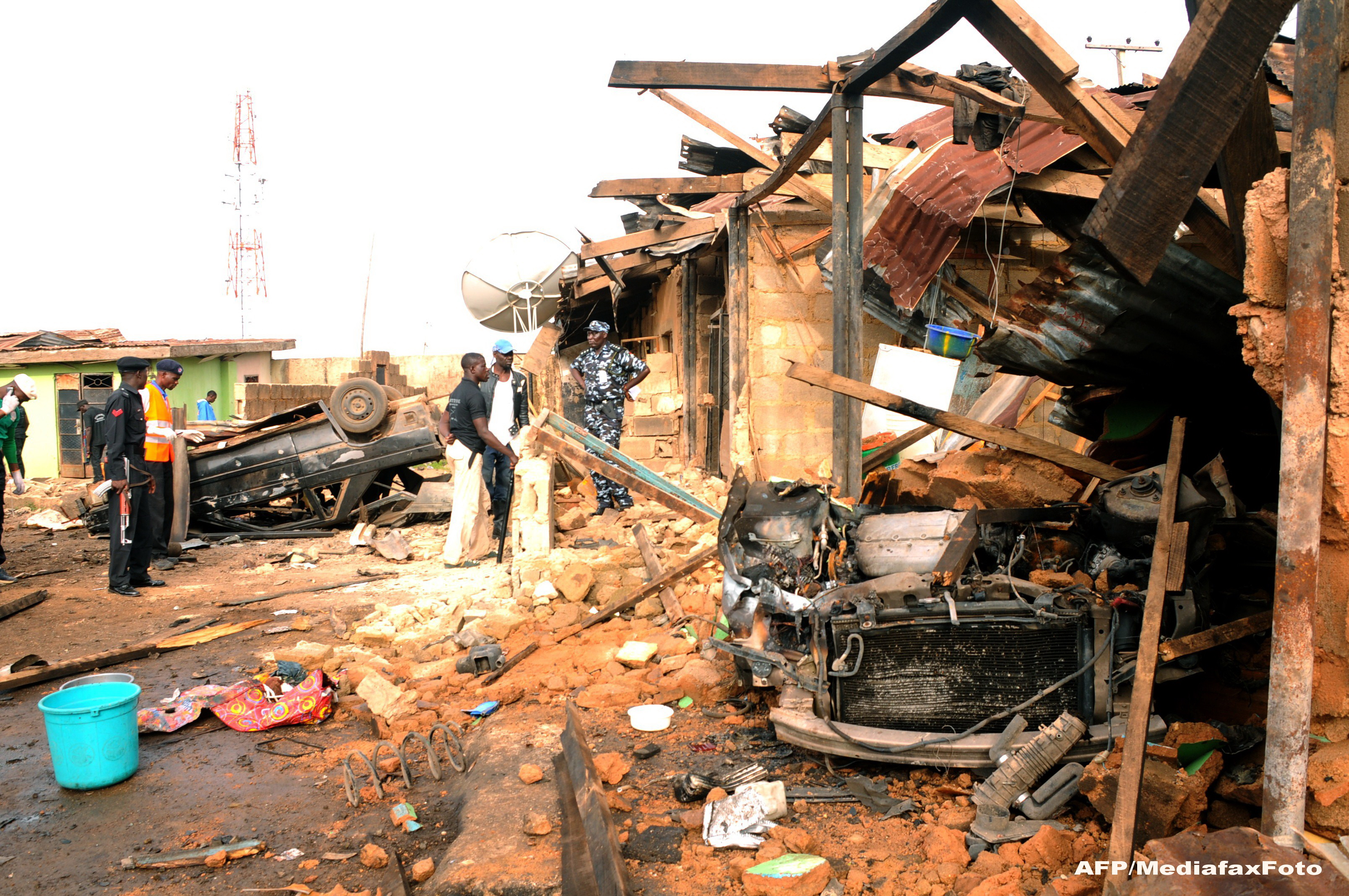 Explozie in Nigeria, langa un