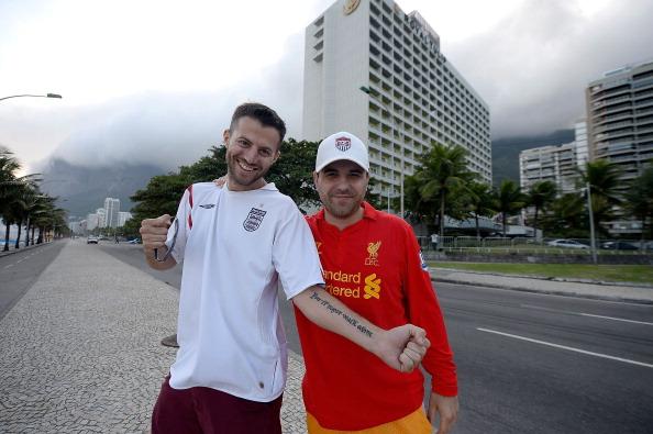 Campionatul Mondial de Fotbal 2014. O tanara misterioasa a fost pozata goala in hotelul unde e cazata Anglia