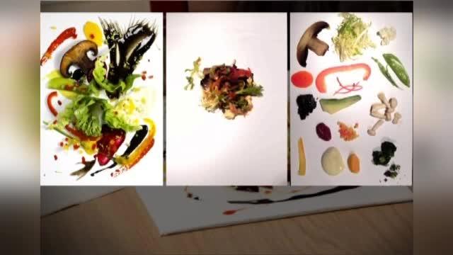 Restaurant sau galerie de arta? Oamenii sunt dispusi sa plateasca dublu o salata obisnuita, dar care are imita un tablou