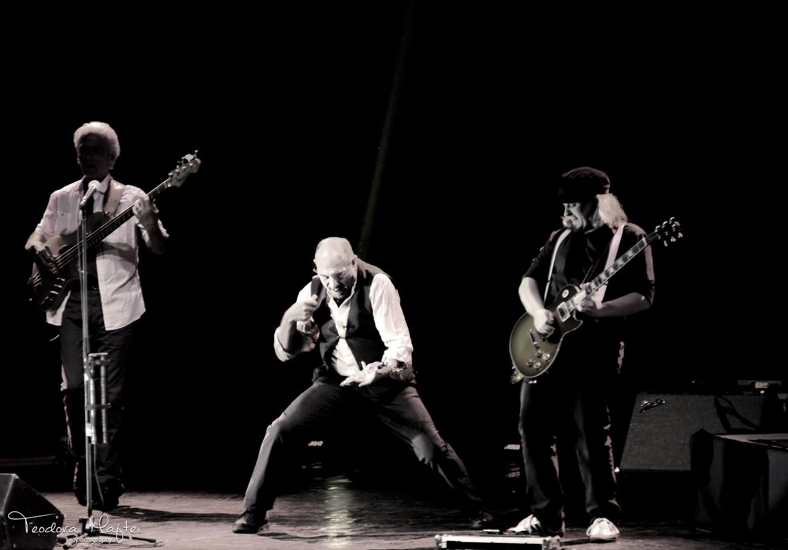 Ian Anderson (Jethro Tull) - Tinerete fara batranete si flautul fermecat pe acorduri de rock, jazz, blues si folk. FOTO