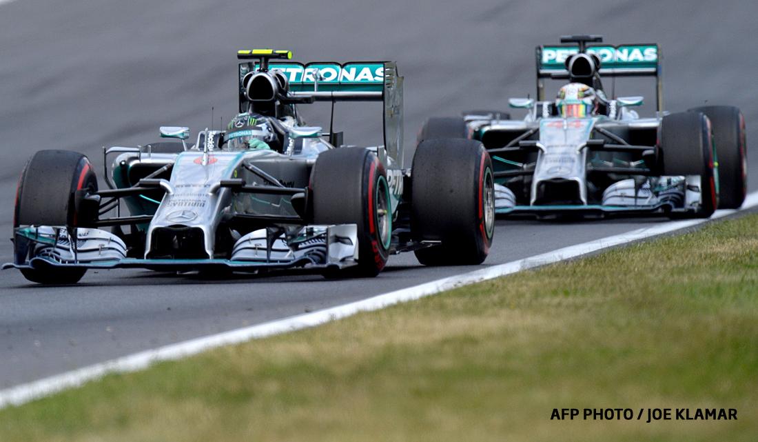 Formula 1: Germanul Nico Rosberg pleaca din pole position in Marele Premiu al Belgiei