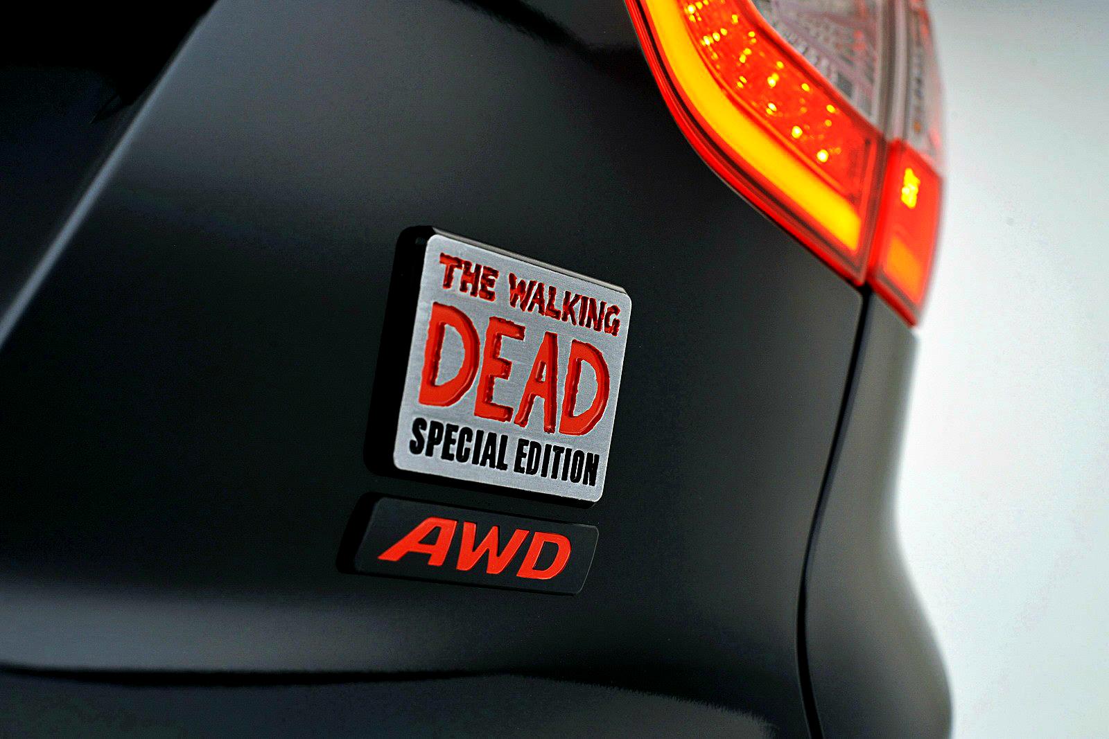 Masina perfecta pentru fanii serialului Walking Dead. Are chiar si sisteme anti-zombie
