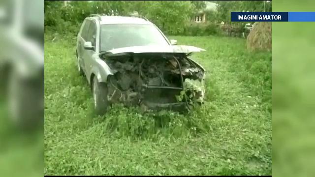 Patru raniti dupa ce un sofer a scapat masina de sub control in Suceava. Victimele se intoarceau dupa o vizita la manastiri