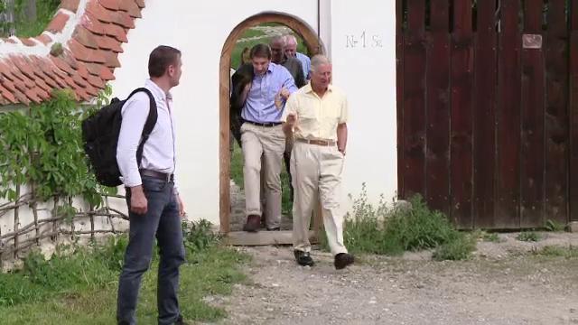 Unde isi va petrece printul Charles ultima zi de vacanta in Romania.