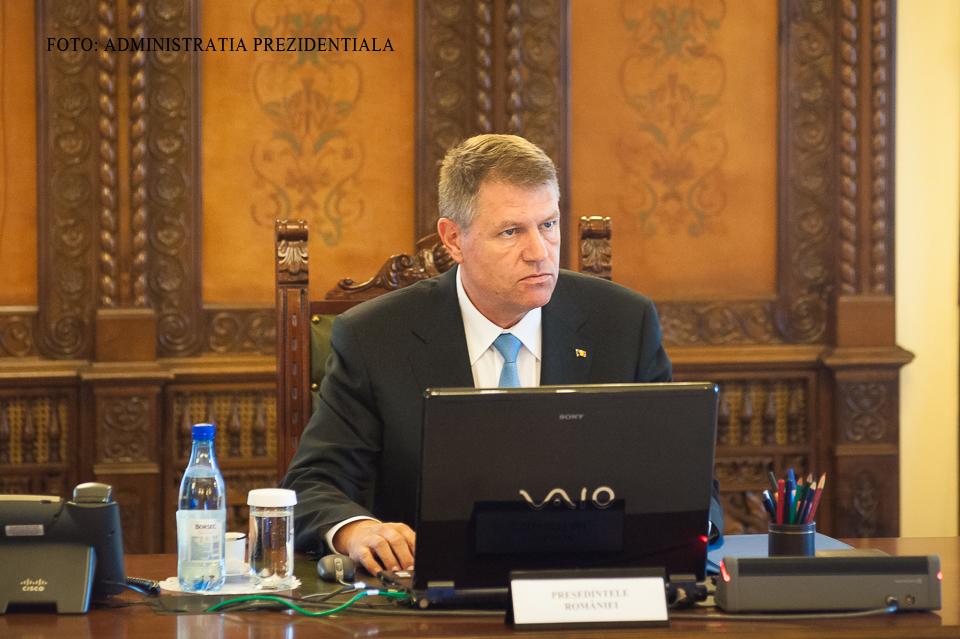 Presedintele Iohannis cere anularea raportului ANI care-l acuza de conflict de interese. Sentinta se va da azi, la Alba Iulia