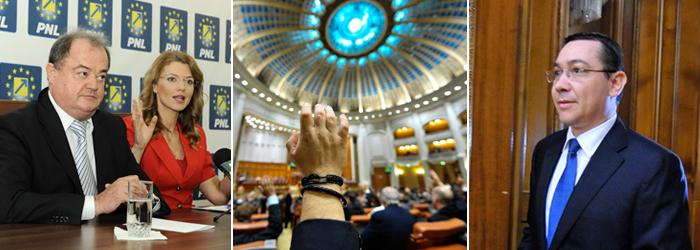 Guvernul Ponta se confrunta AZI cu a treia motiune de cenzura. PSD anunta ca nu va vota. Premierul: Stiti ca NU va trece