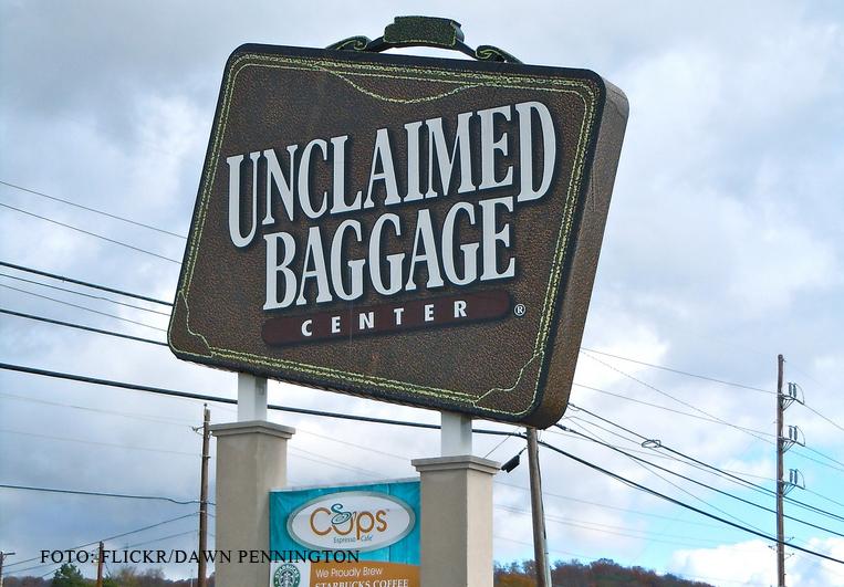 Unde ajung bagajele pierdute la aeroport. Compania care se ocupa de ele a deschis un hypermarket
