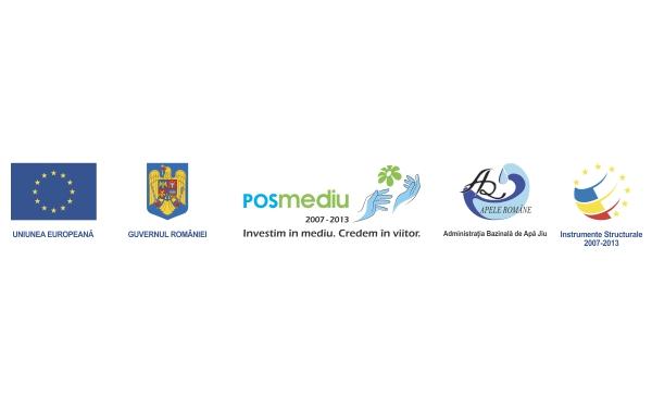 (P) Stadiul implementarii proiectului: Regularizare parau Raznic in zona localitatii Grecesti, confluenta rau Jiu, Dolj