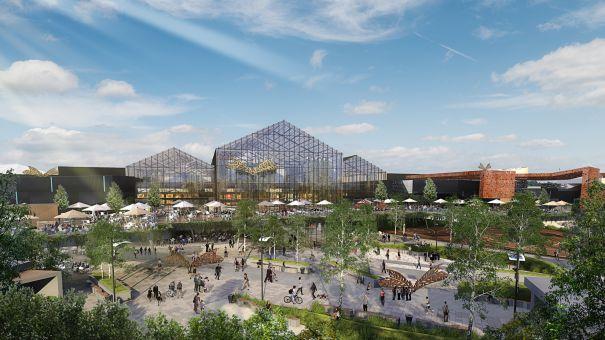 Mall-ul ParkLake, care se va deschide in 2016, in Titan, va genera 2000 de locuri de munca. In ce stadiu se afla constructia