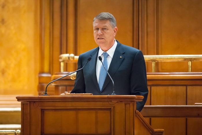 Klaus Iohannis vrea sa adreseze un mesaj Parlamentului. Data propusa de presedintele Romaniei