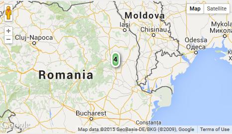 Un cutremur cu magnitudinea 4 pe scara Richter s-a produs marti in Vrancea. Localitatile cele mai apropiate de epicentru
