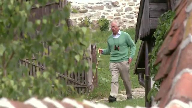 Zona care l-a impresionat pe Printul Charles, in ultima zi de vacanta in Romania.