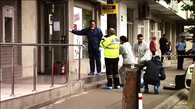 Tentativa de jaf armat la o banca din Capitala: personalul a fost audiat. Oricine are informatii e rugat sa sune la 112