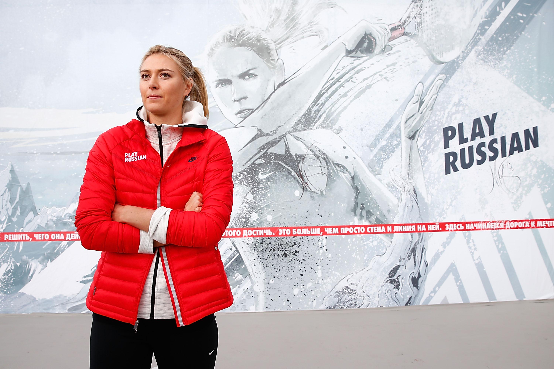 Anuntul facut de Nike dupa ce Maria Sarapova a fost suspendata doi ani pentru dopaj