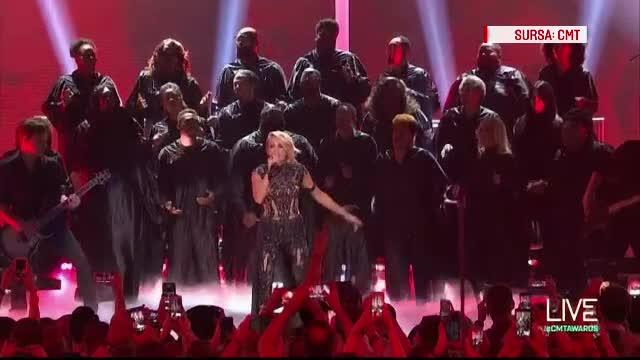 Premiile CMT 2016. Carrie Underwood si Tim McGraw, marii castigatori de miercuri seara