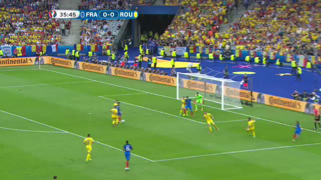 UEFA EURO 2016. Ratare a lui Griezmann, minutul 36