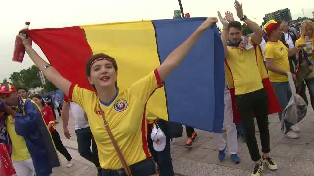 Soldatii cu mitraliere n-au stricat bucuria fotbalului la UEFA EURO 2016. Prin ce au trecut romanii prezenti la stadion