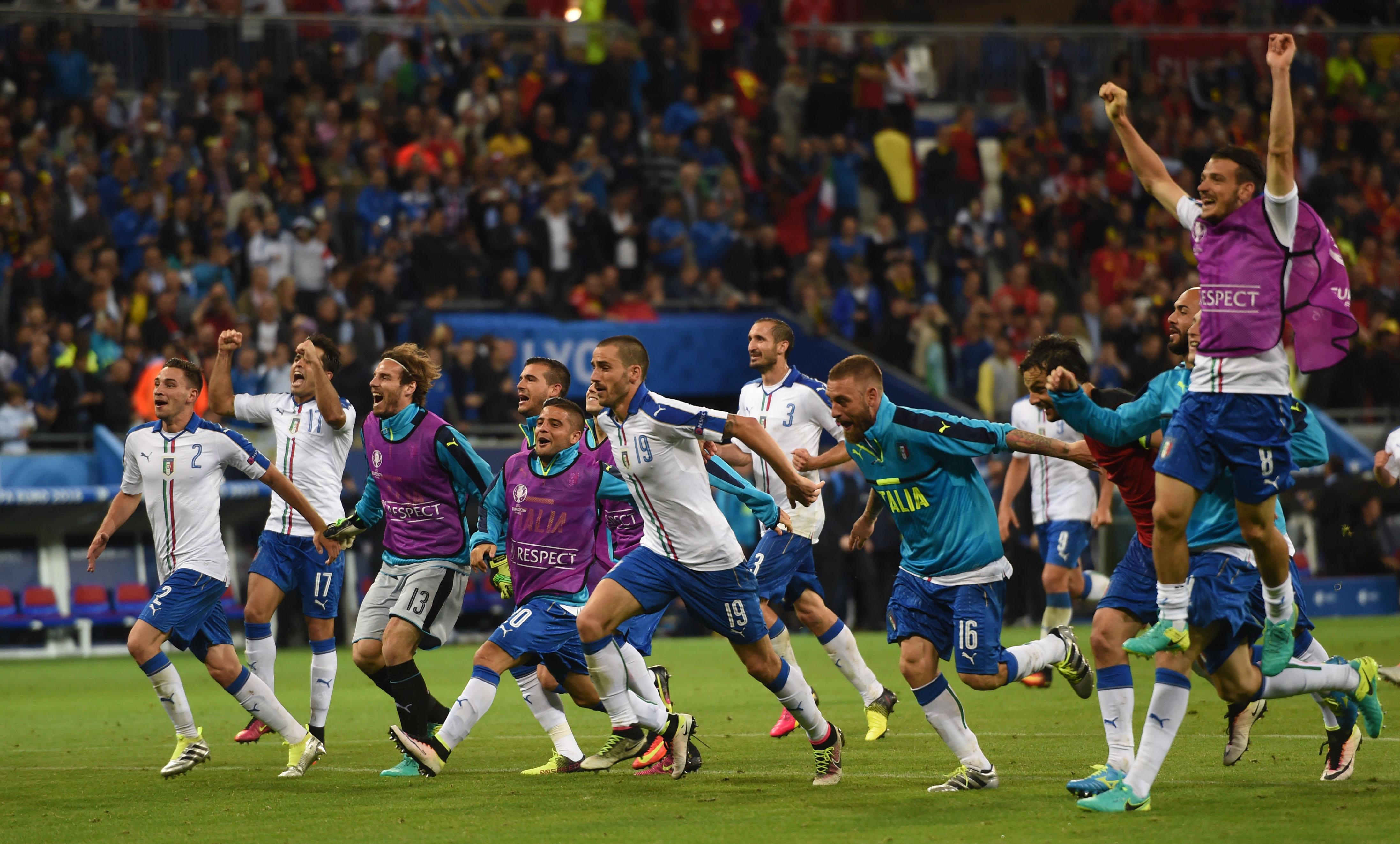 BELGIA - ITALIA 0-2. Doua goluri superbe si numeroase ocazii, in cel mai spectaculos meci de la UEFA EURO 2016. REZUMAT VIDEO