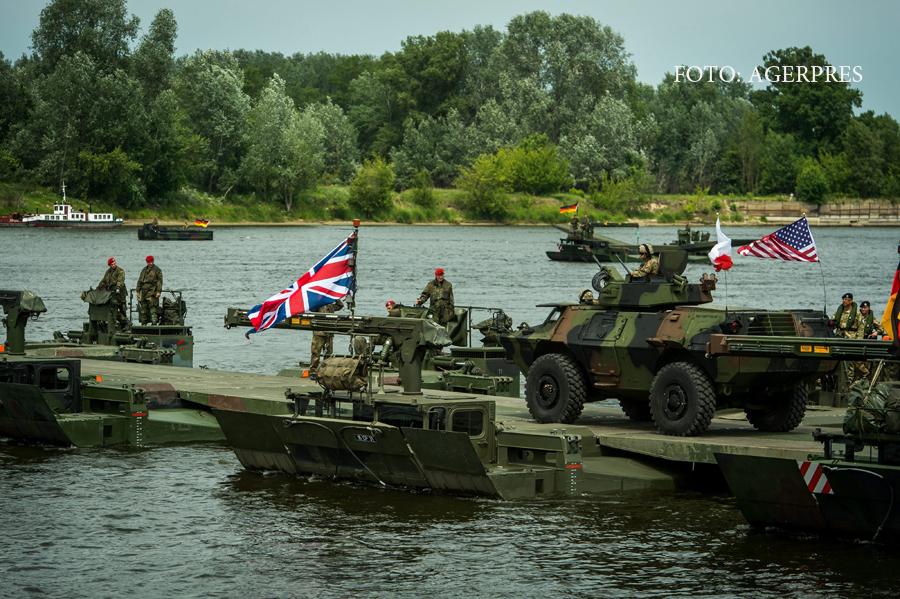 Romania va fi aparata de o brigada multinationala NATO. Reactia Kremlinului: