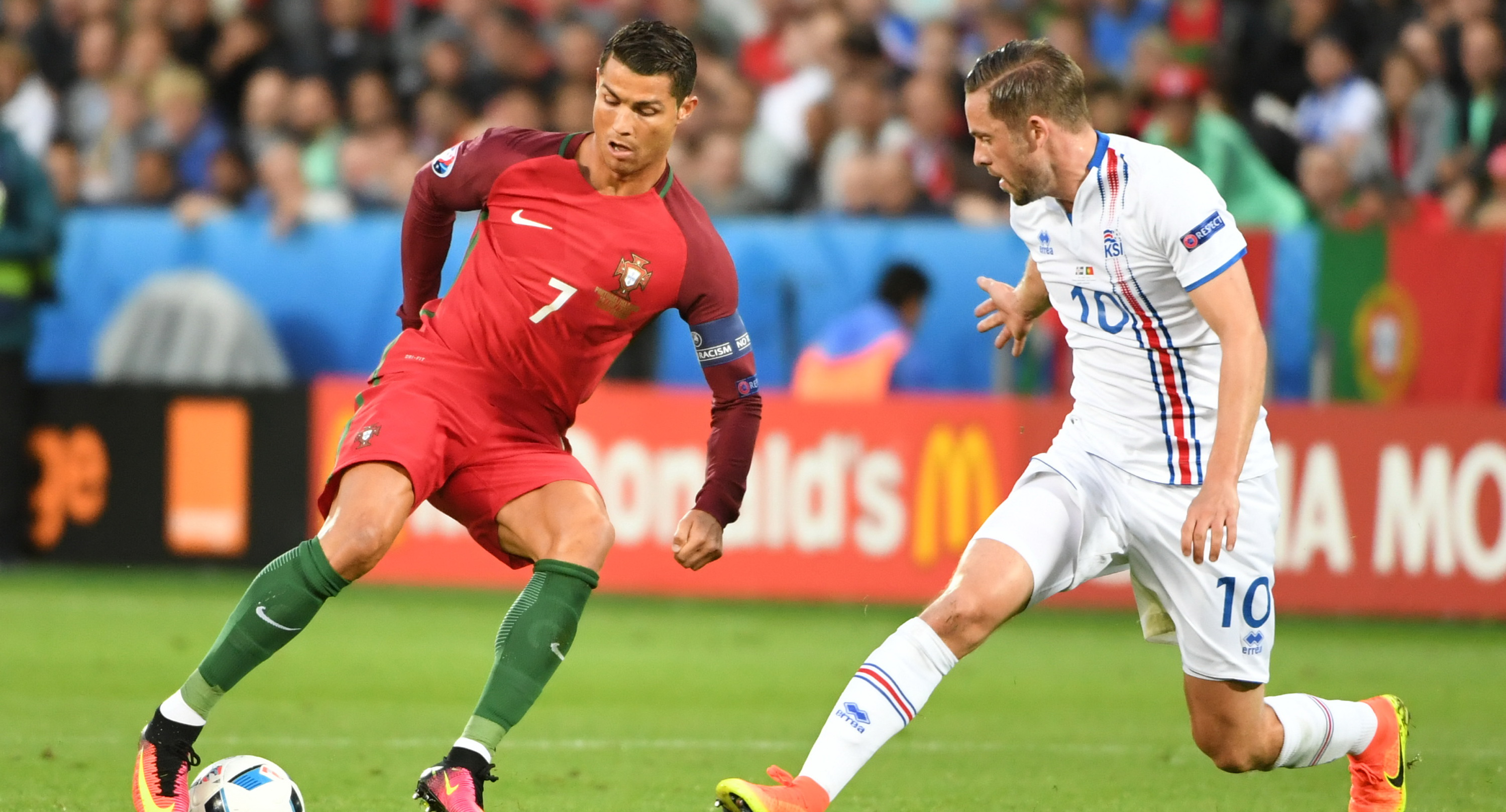 PORTUGALIA - ISLANDA 1-1. Ziua surprizelor la UEFA EURO 2016: Islanda a obtinut un egal istoric. REZUMAT VIDEO