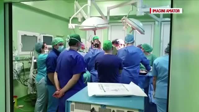 Prelevare de plamani la Targu Mures. O echipa de medici din Germania au realizat operatia cu succes