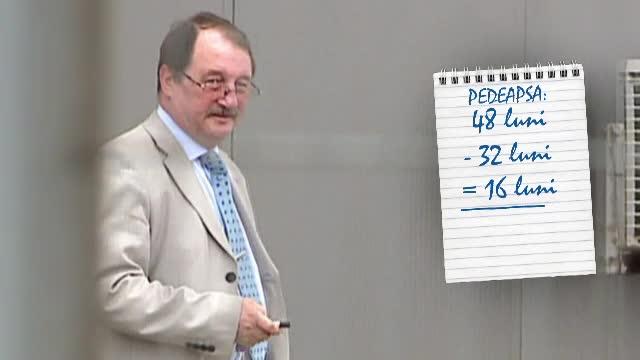 Mircea Basescu, condamnat definitiv la inchisoare cu executare. Cat timp va sta inchis de fapt din pedeapsa de patru ani