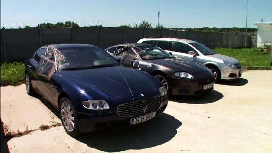 ANAF-ul scoate la vanzare bolizii confiscati, printre care Lamborghini, Maserati si X5. Pentru ce sume ii puteti cumpara