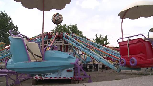 Primele masuri luate dupa accidentul din parcul de distractii din Buzau. Femeia care a cazut din carusel este in stare grava