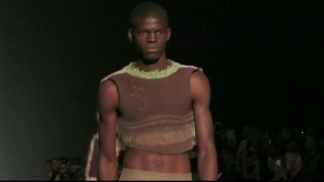Fuste, blanuri si materiale semitransparente. Cum arata colectiile masculine prezentate la Saptamana modei de la Milano