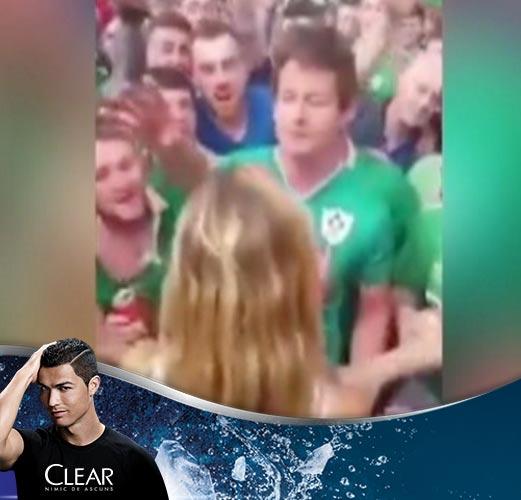 Irlanda are cei mai simpatici fani de la UEFA EURO 2016. Cum au incercat suporterii sa adoarma un bebelus in tren
