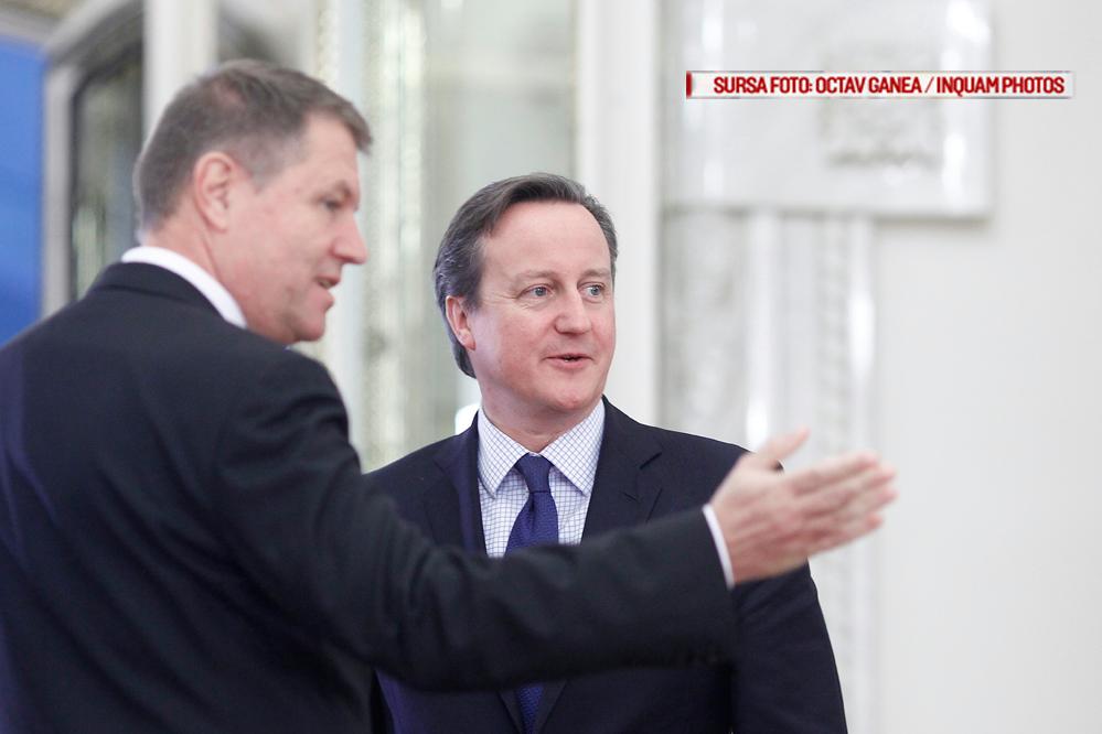 BREXIT: Iohannis a discutat cu David Cameron despre situatia romanilor din UK. Ce s-ar putea intampla cu spatiul Schengen