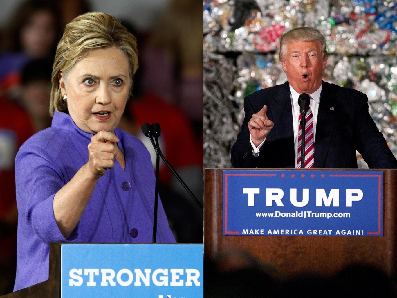 Rasturnare de situatie, dupa Conventia Partidului Republican. Diferenta in sondaje dintre Donald Trump si Hillary Clinton
