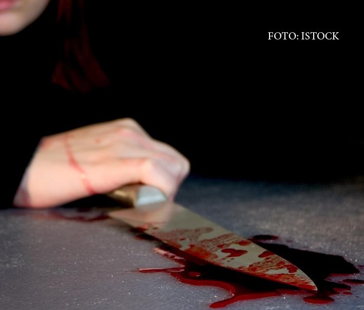 Femeie injunghiata in strada de o batrana de 71 de ani, in centrul Sibiului. De la ce a pornit totul