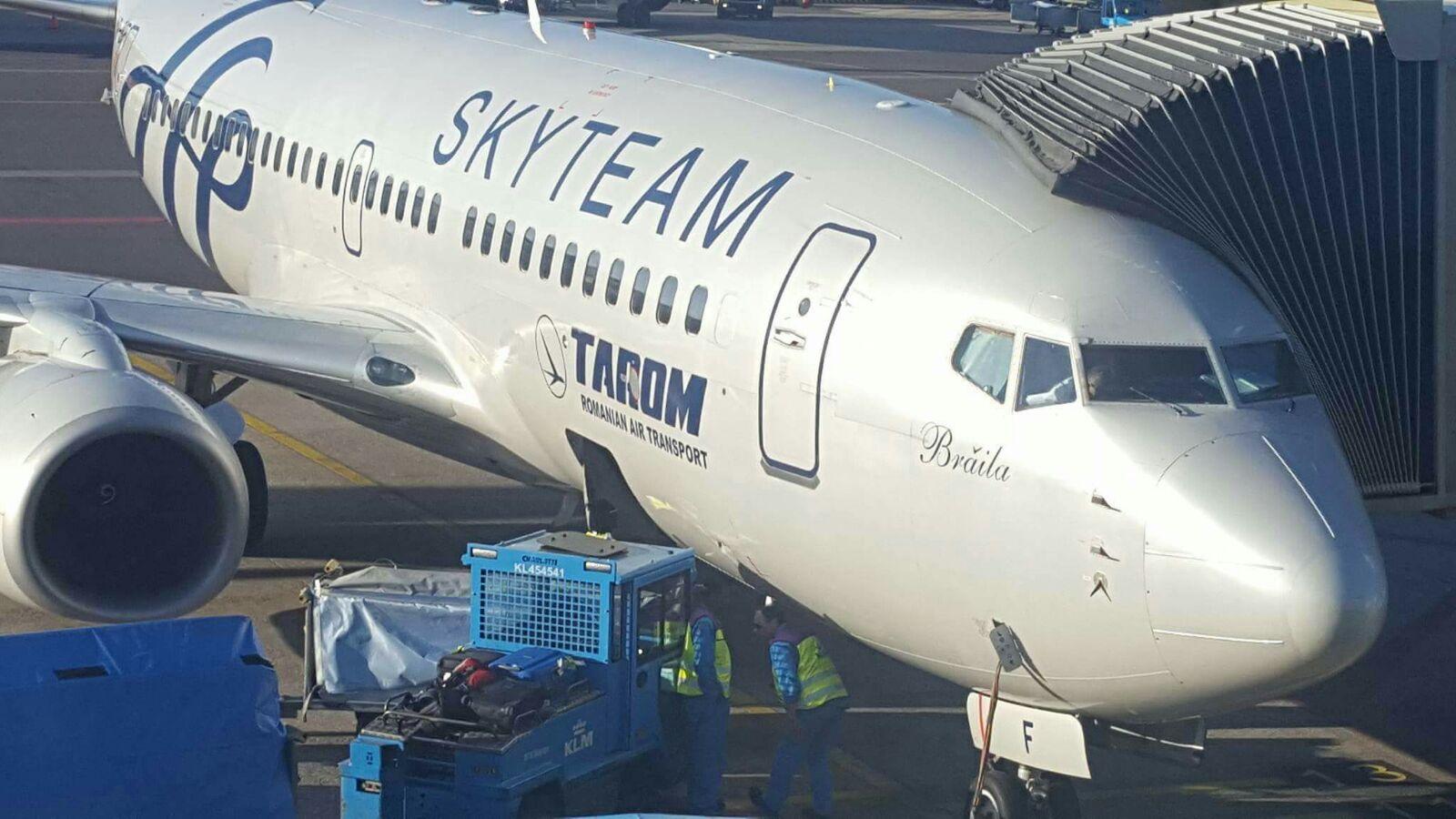 Incident cu un avion TAROM pe aeroportul din Timișoara