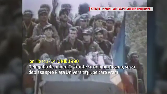 Dosarul Mineriadei. Ion Iliescu, acuzat ca a cerut inarmarea militarilor cu munitie de razboi