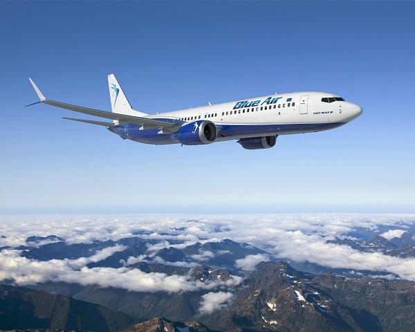 Blue Air anulează 64 de zboruri din România către Italia și Cipru