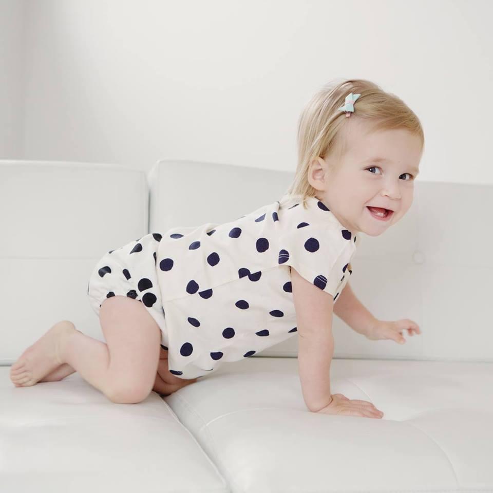 O fetita de un an din SUA, diagnosticata cu