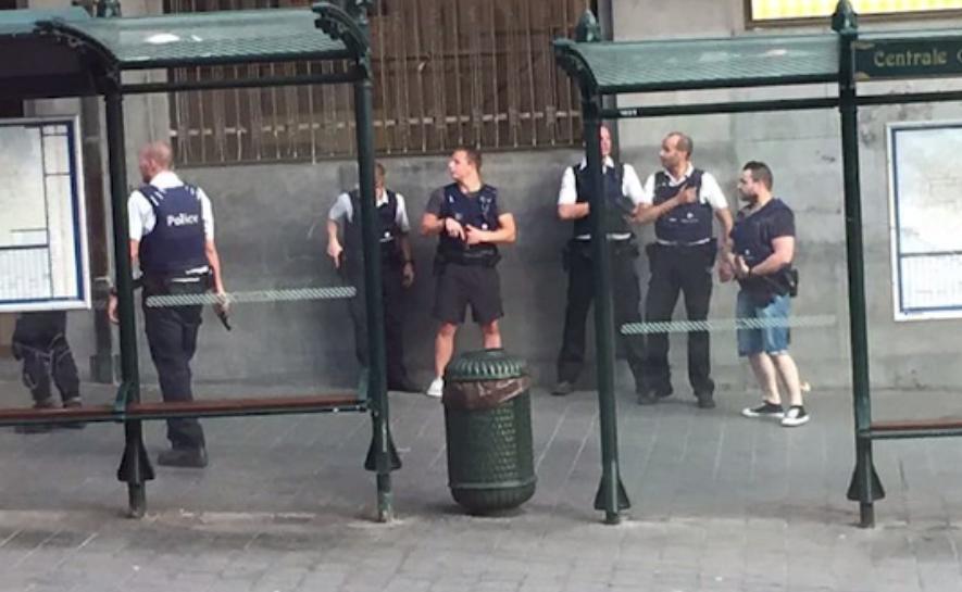 Autorul atentatului esuat din Bruxelles, un marocan de 36 de ani.