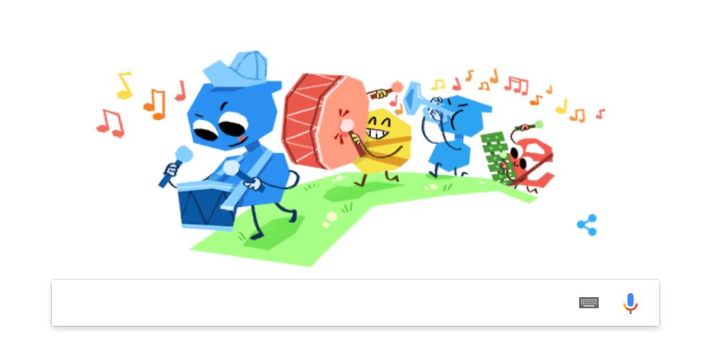 Ziua Copilului, sărbătorită de Google printr-un Doodle special