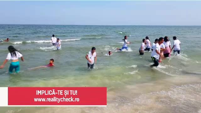 (P) Kaufland România aduce copiii săraci pentru prima dată la mare