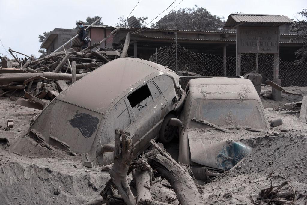 O nouă erupție a vulcanului Fuego: 92 de morți și 190 de dispăruți