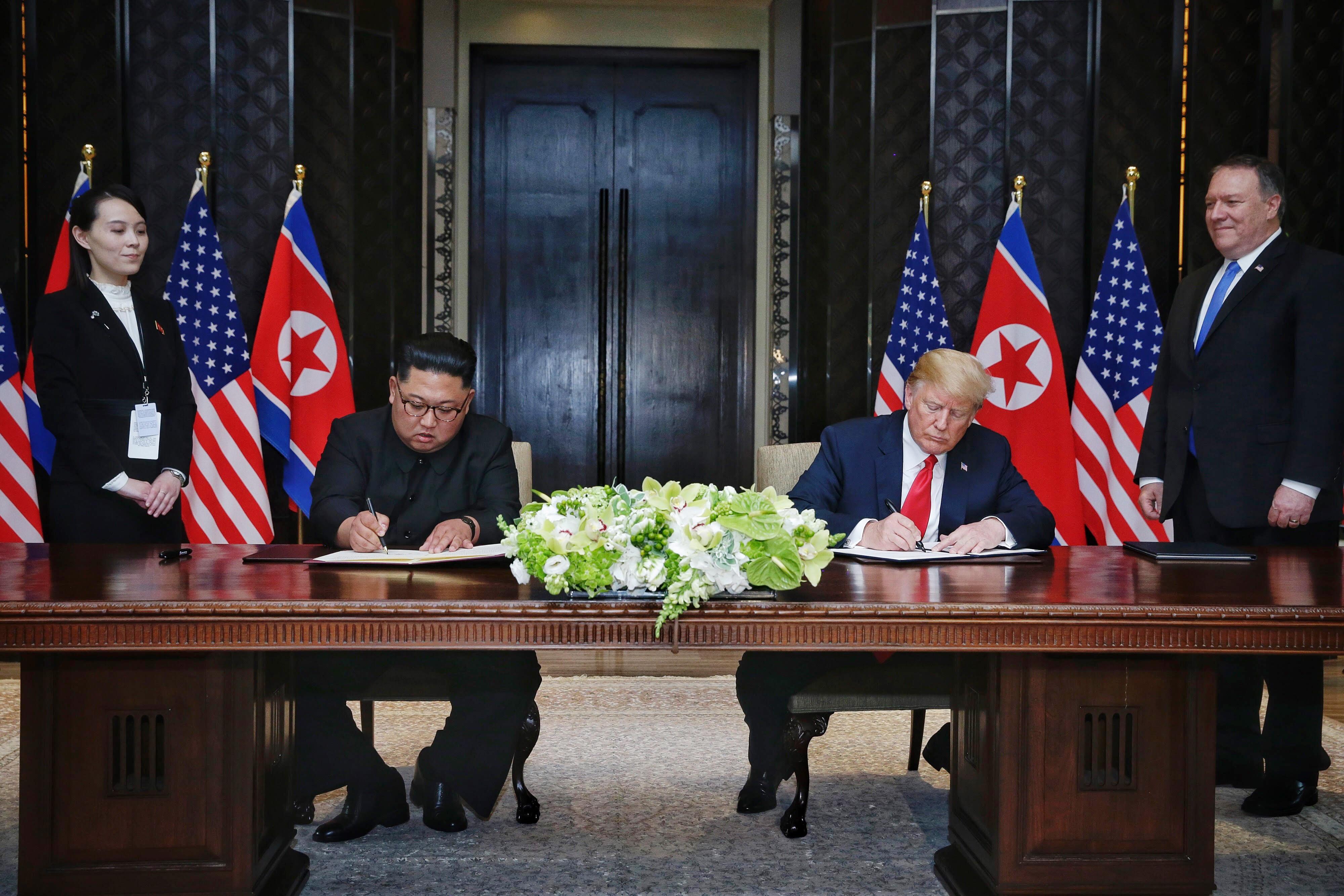 Trump, nominalizat la premiul Nobel pentru Pace pentru eforturile de denuclearizare a peninsulei coreene