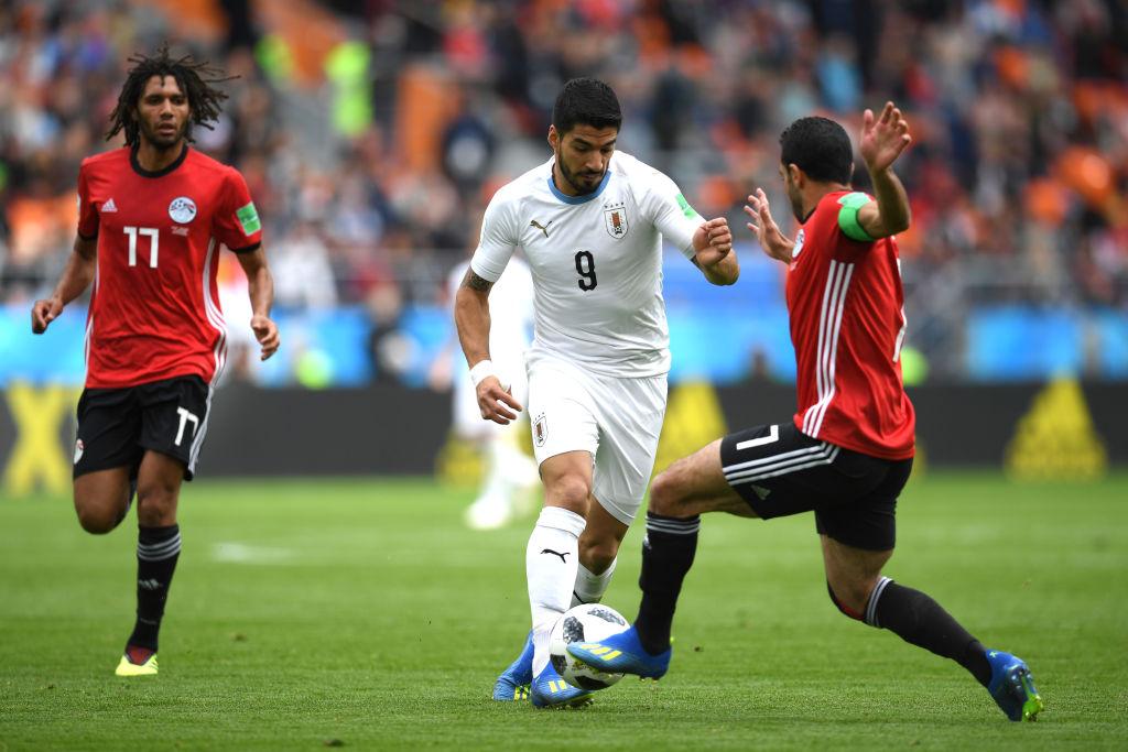 Egipt - Uruguay 0 - 1, după ce Gimenez a încris în minutul 90. Salah, doar rezervă